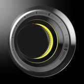 Ovládání hlasitosti černý ciferník — ストック写真