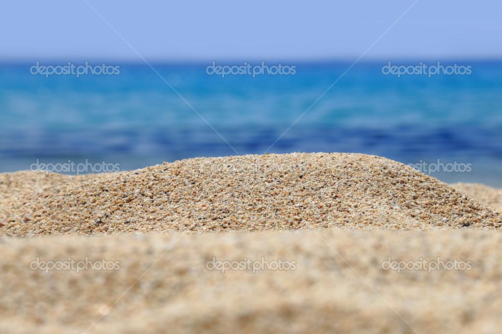 пляж крупным планом