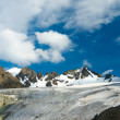 Big Ala-ArchGlacier in KyrgyztMountains — Stock Photo #29754287
