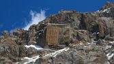 吉尔吉斯山类似于一个正方形幻想岩 — 图库照片