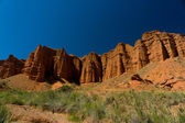 Konorchek canyons near to Boom gorge — Stock Photo