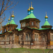 Holy Trinity Cathedral in Karakol — Stock Photo #31578759