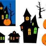Halloween ghosts. — Stock Vector #3960267