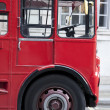 Red London Bus Cab — Stock Photo
