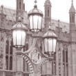 Houses of Parliament in Westminster; London - Stock Photo