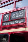 Autobus rossi di Londra — Foto Stock