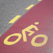 Cycle Lane — Stock Photo