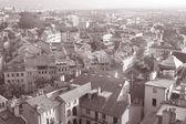 Geneva, Europe in Black and White — Stock Photo