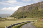 Open Road, Isle of Mull — Stock Photo