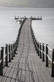 Pier in Scotland — Stock fotografie