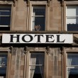 Hotel Accommodation Sign — Stock Photo #17610003