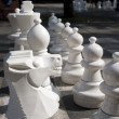 Chess Pieces on Board — Stock Photo
