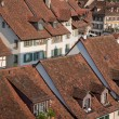Roofs and Houses in Bern - Stock Photo