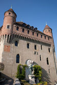 St Marie Chateau, St Mary Castle in Lausanne — Stock Photo