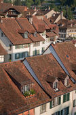 Roofs and Houses in Bern — Stock Photo