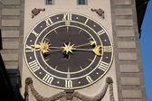 Twarz zegar na wieży, Berno — Zdjęcie stockowe