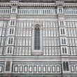 Facade of Florence Cathedral - Stock Photo