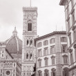 Duomo Cathedral Church, Florence - Stock Photo