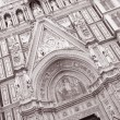 Duomo Cathedral Church, Florence — Stock Photo
