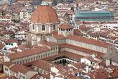 San lorenzo kerk in florence — Stockfoto