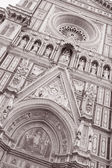Doumo Cathedral Church, Florence, Italy — Stock Photo