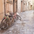 Disused Bikes in the Streets — Stock Photo