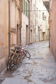 Disused Bikes in the Streets of Pisa, Italy — Stock Photo