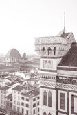 Cathedral and View of the City, Florence — Stock Photo