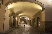 Kemerli caddesi via dei georgofili'de sokak, floransa — Stok fotoğraf