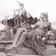 Neptune Fountain, Alexanderplatz Square, Berlin — Stock Photo