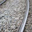 Tram Track Curve — Stock Photo