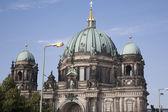 Berliner dom církevní dóm, berlín — Stock fotografie