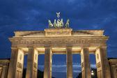 Brandenburg Gate, Berlin at Night — Stock Photo