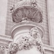 Detail on the Facade of St Pauls Cathedral Church, London, — Stock Photo