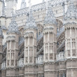 Facade of Westminster Abbey Church, London — Stock Photo