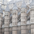 Facade of Westminster Abbey Church, London — Stock Photo #34162101
