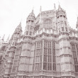 Westminster Abbey Facade, Westminster, London — Stock Photo #34162271