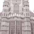 Westminster Abbey Facade, Westminster, London — Stock Photo #34162295