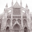 Westminster Abbey Facade, Westminster, London — Stock Photo #34163117