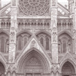 Westminster Abbey Church, London, England, UK — Stock Photo