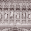 Main Facade of Westminster Abbey, London — Stock Photo