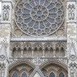 Westminster Abbey Facade, London, — Stock Photo