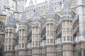 Facade of Westminster Abbey Church, London — Stock Photo