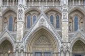Facciata abbazia di westminster, londra — Foto Stock