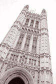 Victoria Tower, Houses of Parliament, Westminster, London — Stock Photo