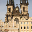 Old Town Square with the Church of Our Lady before Tyn, Prague — Stock Photo #40778953