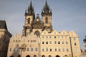 Old Town Square with the Church of Our Lady before Tyn, Prague — Stock Photo