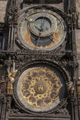 Astronomical Clock in Old Town Square, Stare Mesto Neighborhood — Stock Photo