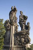 Charles Bridge Statue, Prague — Stock fotografie