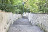 петрин хилл парк, прага, чешская республика — Стоковое фото